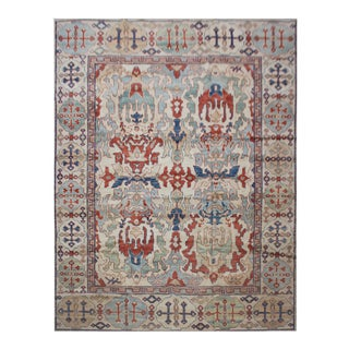 "Aara Rugs Inc. Hand Knotted Oushak Rugs - 8'1"" X 10'"