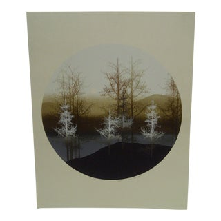 "Virgil Torchmen ""Tree Slope"" Limited Edition Print"