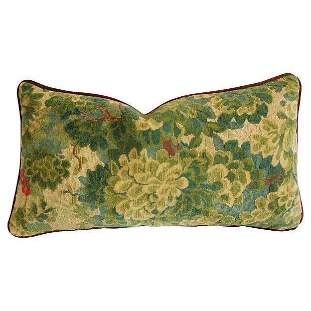 Designer Scalamandre Velvet Marly Pillows - A Pair - Image 5 of 7