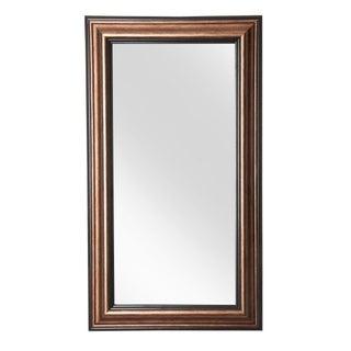 Antique Bronze Floor Mirror
