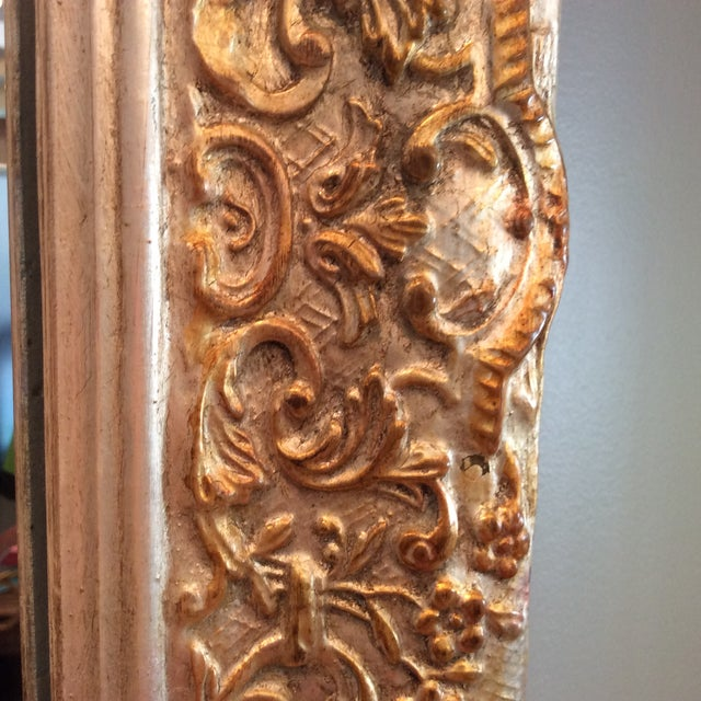 Carvers Guild White Pearl and Gold Mirror - Image 6 of 9
