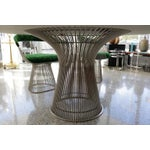 Image of Warren Platner for Knoll Marble Table, Four Chairs, Jack Lenor Larsen Fabric