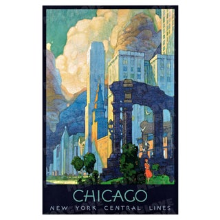 Chicago Travel Poster Print
