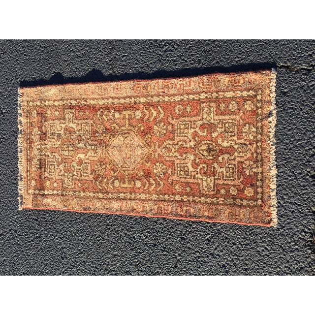 "Vintage Persian Karajeh Rug - 1'7"" X 3'3"" - Image 2 of 9"