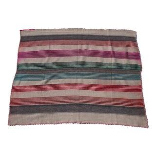 "Peruvian Wool Frazada Throw -- 4'9"" x 5'11"""