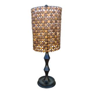 Palecek Tribal Beaded Shade Table Lamp