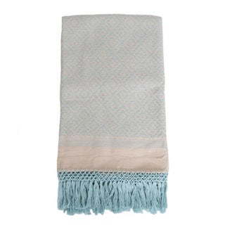 Mexican Light Blue Blanket