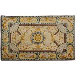 An Antique Spanish Savonnerie Rug