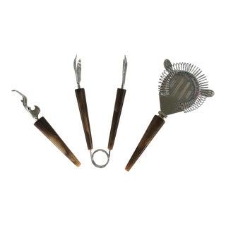 Vintage Bakelite Bar Tools - Set of 4