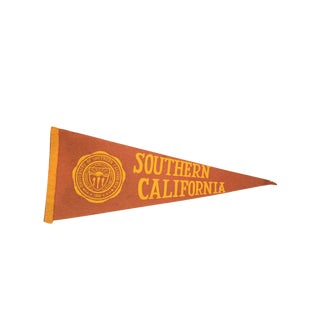 University of Southern California Felt Flag