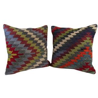 Kilim Pillow Covers - A Pair