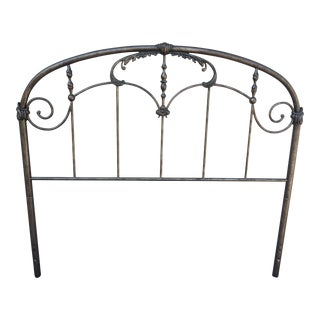 Antique Reproduction Iron Full/Queen Headboard