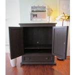 Image of Solid Pine Media Armoire