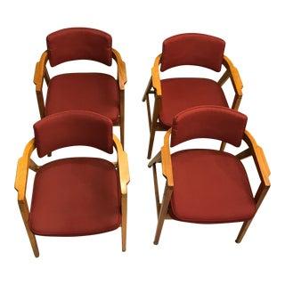 1960's Gunlocke Chairs - Set of Four