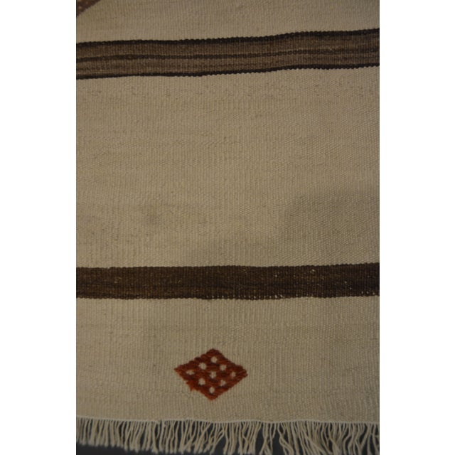 "Image of Banded Kilim Wide Runner - 4'10"" X 10'6"""