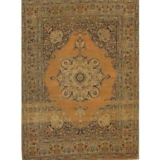 "Pasargad NY Antique Persian Tabriz Rug - 4'7"" x 6'2"""