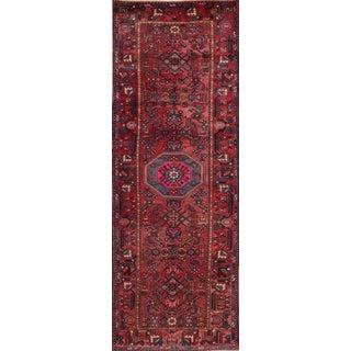 "Apadana - Vintage Persian Hamadan Rug, 3'8"" x 10'2"""