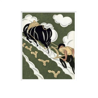 Black Horse - Unframed Large