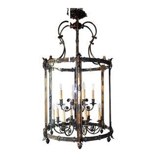 Oversize Regency Lantern Chandelier