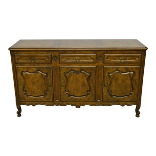Baker French Style Solid Fruitwood Sideboard