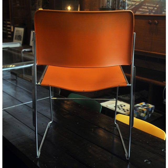 Orange David Rowland 40/4 Chairs - 4 - Image 3 of 7