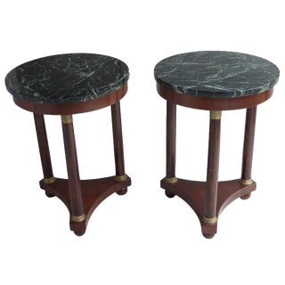 French Empire-Style Side Tables - A Pair