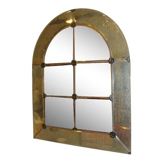 A Hollywood Regency Style Wall or Console Mirror