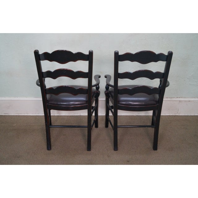 Theodore Alexander Ateliers Chairs - A Pair - Image 4 of 10