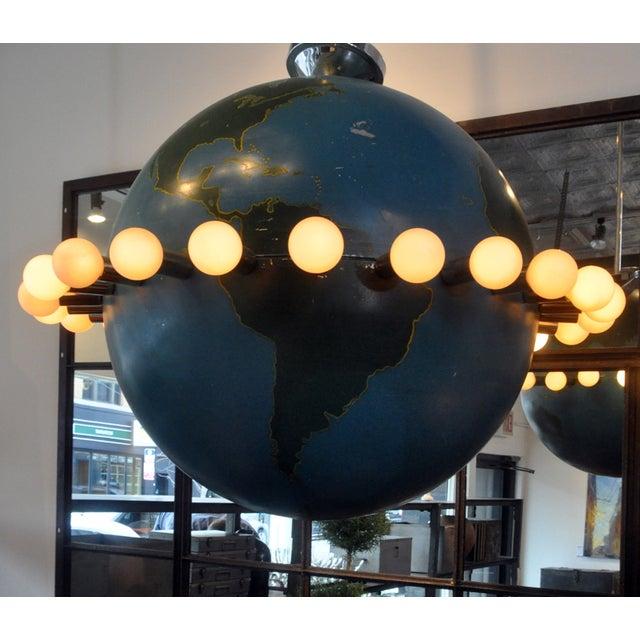 Ted Harris Vintage Globe Chandelier - Image 5 of 5