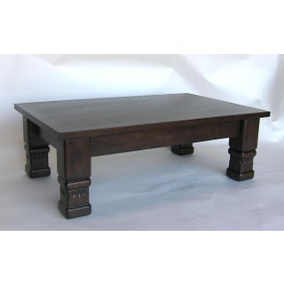 Guatemalan Coffee Table