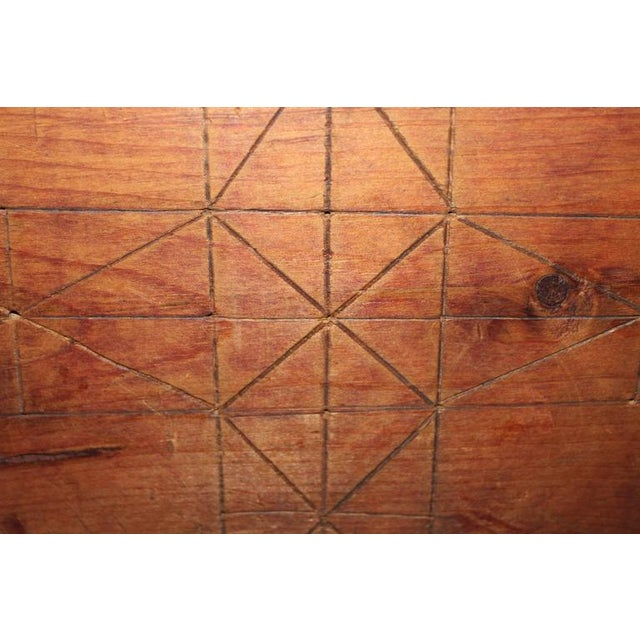 Early hand made 19th c. gameboard - Image 4 of 5