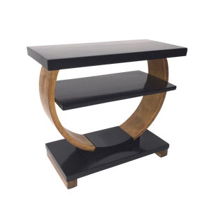Brown Saltman Deco End Table