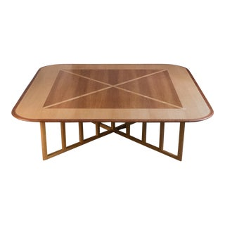 Massive Gwathmey Siegel Commission Coffee Table
