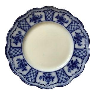 Grinley Melbourne Flow Blue Ceramic Dessert Plate