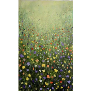 """Flowerfield Three"" Painting"