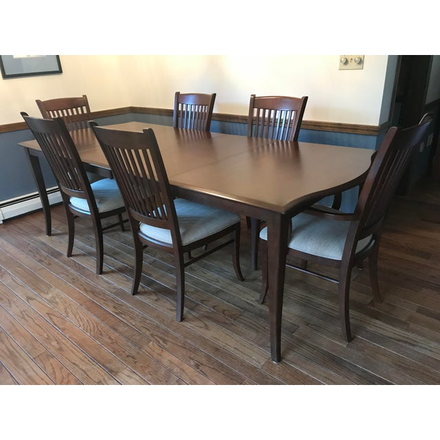 Richardson Brothers Solid Wood Dining Set - Image 2 of 11