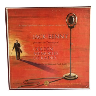 Vintage Jack Benny Radio Stories - Set of 6 Albums