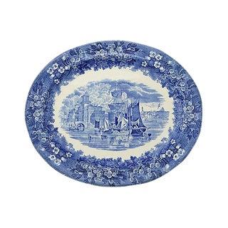 Antique Wedgwood Fererra Ship Platter