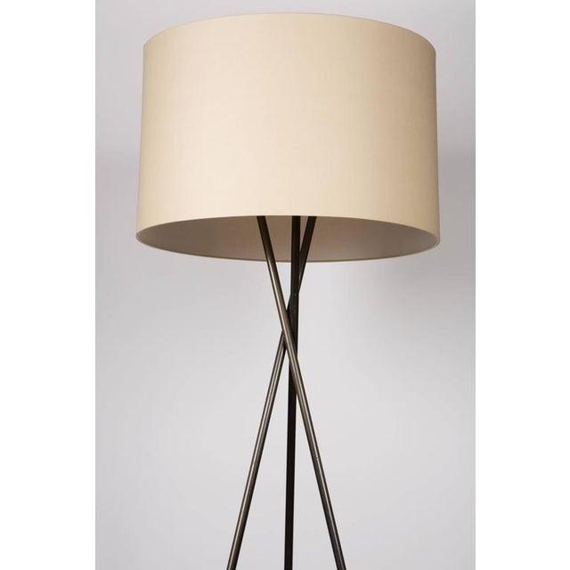 Monumental Bronze Floor Lamps - Image 1 of 6
