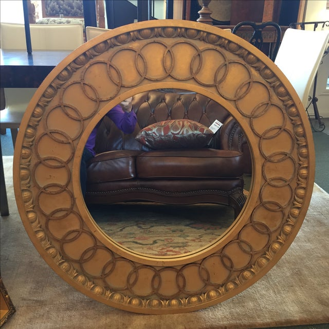McLain Wiesand Custom Gold Concentric Mirror - Image 2 of 6