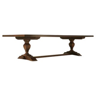 Trestle Style Dining Table