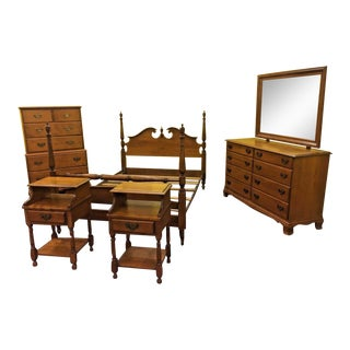 Vintage Heywood Wakefield 5 Piece Wintrhop Bedroom Set