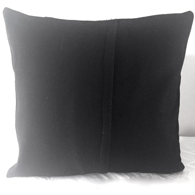 Mid-Century Barkcloth Pillow - Image 5 of 5