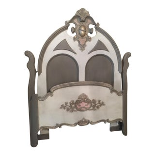 Victorian Hand-Painted Headboard