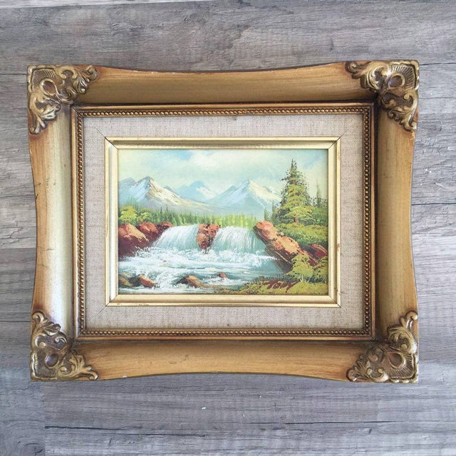 Vintage Waterfall Landscape - Image 2 of 3