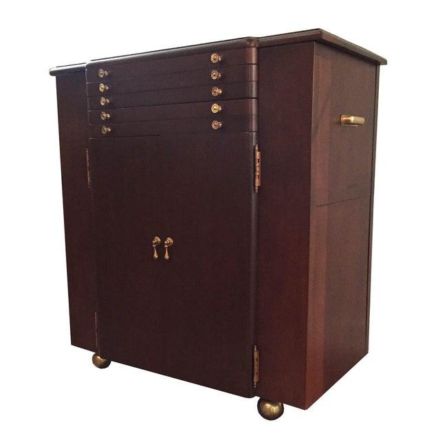 Image of Vintage Entertaining Cabinet