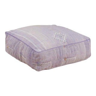 Cactus Silk Lavender Pouf