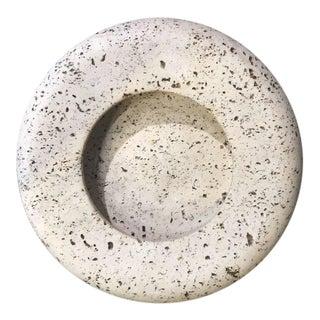 Italian Travertine Bowl