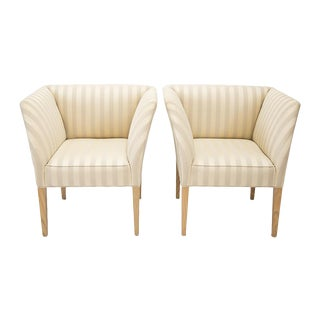 Art Deco Lounge Chairs - A Pair