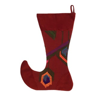 Large Kilim Christmas Stocking | Yule